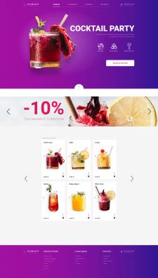 COCKTAIL PARTY/ Internet-shop/