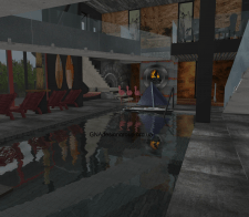 Креативный домик с бассейном, философией, релаксом