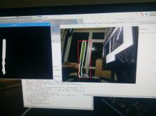 отслеживание цвета на базе opencv и numpy
