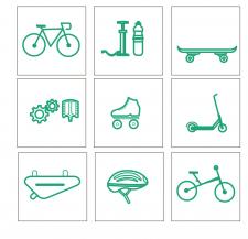 Набор иконок для каталога интернет-магазина