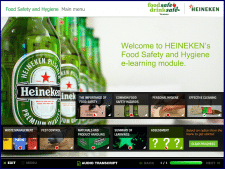 Обучайющий курс для Heineken