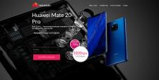 Landing Page (Huawei Mate 20 Pro)