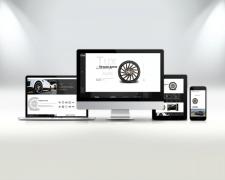 Корпоративный сайт для дилера авто дисков