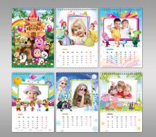 Детский календарь для фото