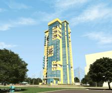 Многоэтажный жилой комплекс в г. Киеве