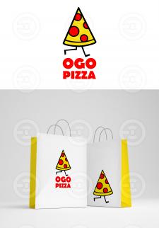 Логотип OGO pizza