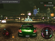 Game User interface (redesign nfs u2)