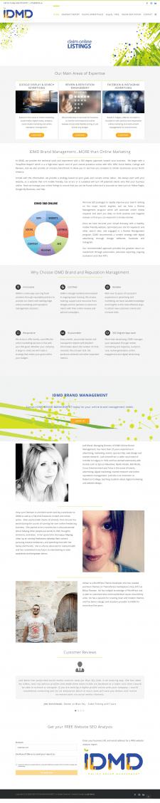 Создание дизайна, бренда и сайта