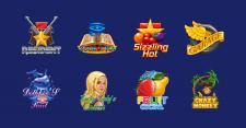 Логотипы для игровых слот-автоматов