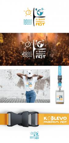 Логотип для фестиваля Koblevo Freedom Fest