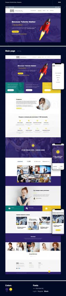 Редизайн сайта (Figma)