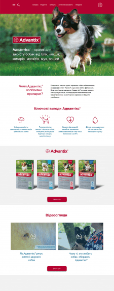 Advantix - Landing Page
