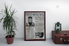 Постер Heinz newspaper