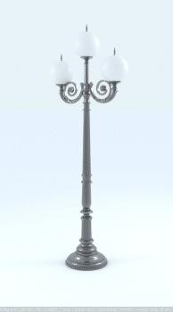 фонарь, литье