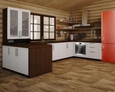 Визуализация кухни по Т3