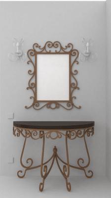 Проект кованой мебели
