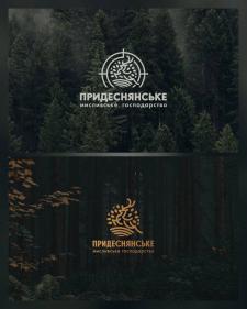 """Лого для охотничьего хозяйства """"Придеснянське"""""""