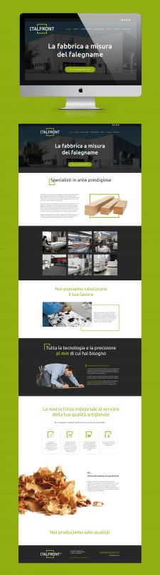 Сайт мебельной компании italfront