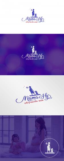 Логотип для обучения мам
