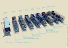 3Д инфографика транспортировки