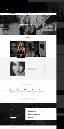 Landing page for Anna Avramich photographer
