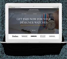 Сайт компании «ZETAVINTAGE»