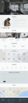 Дизайн сайта для жилого комплекса(лендинг)