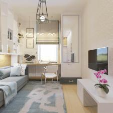 Интерьер квартиры 32 м2 Киев