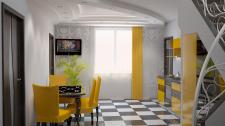 Кухня-столовая (частный дом)