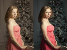 Обработка портретной фотографии