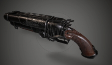 Shotgun COG MWWG Low poly game model