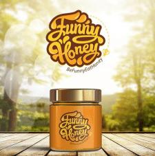 """Логотип для компании """"Funny Honey"""""""