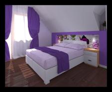 Разработка дизайна спальни. г.Владивосток