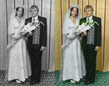Оцветнение старой фотографии 3