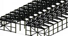 Моделювання каркаса будівлі