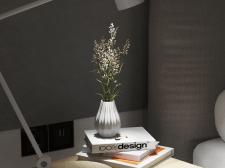 Спальня. Скандинаво-уютный минимализм. Детали