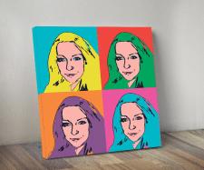 Портрет в стиле Pop-Art