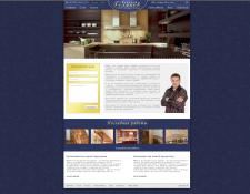 Версия макета для персонального сайта Алексея Голя