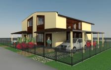 Жилой дом на две семьи в г.Бровары