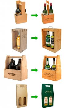 Визуализация упаковки для Jameson