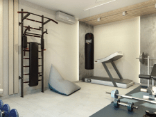 Дизайн домашнього спортзалу