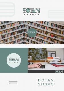 Логотип для сайта продажи книг и учебников