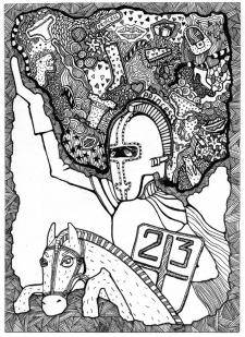 Рыцарь на 23феврвля