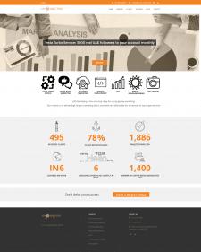 """Розробка сайту """"Gpsmarketing"""""""