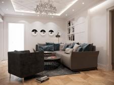 Дизайн проект квартиры ЖК «Лико-Град»