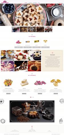 Сайт сладостей