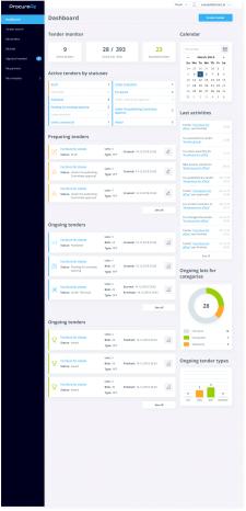UX/UI Procurement SAAS