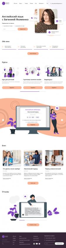 Верстка многостраничного сайта.