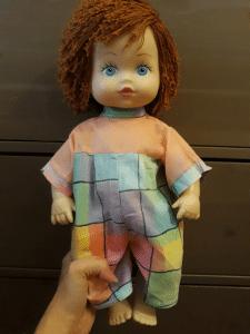 Куколка с новой причёской