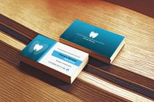 Дизайн визитки стоматологии